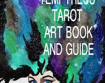 Temptress Tarot Art book and GUIDE