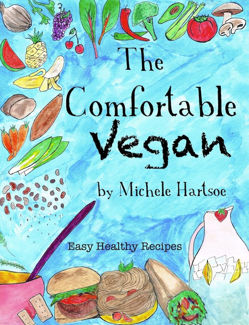 Digital Download Comfortable Vegan Cookbook image 0