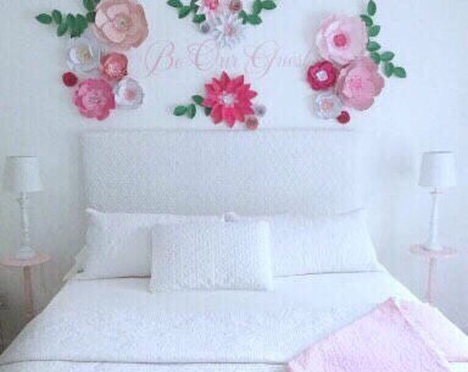 Fuchsia flower wall decor fuchsia sweet 16 birthday party decor
