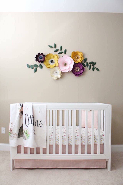 Purple Wall Art For Nursery