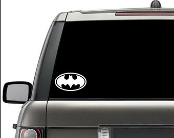 Batman Classic Window Decal Silhouette Sticker