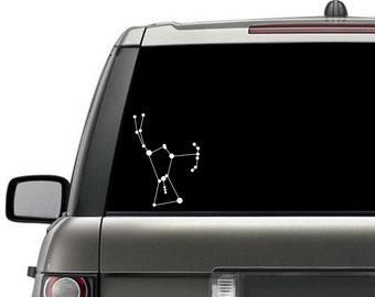 Orion Constellation Window Decal Silhouette Sticker