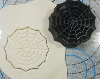 Spiderman Web Cookie and Fondant Cutter
