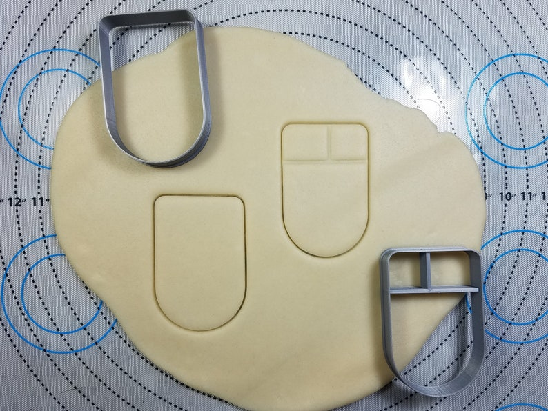 Computer Mouse Cookie Cutter