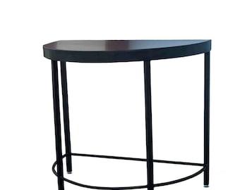 Half moon table   Etsy