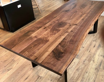 Charmant Live Edge Table, Wood Slab For Dining Or Conference Table, Black Walnut Slab,  Maple Slab, Oak Slab, Monkey Pod Slab, Purple Heart Slab