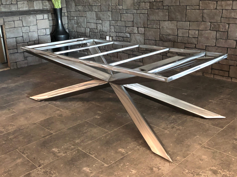 Metal Table Legs Modern Or Industrial, Dining Room Table Legs Metal