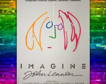 Original Movie Poster Imagine John Lennon