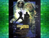 Vintage Original Film Poster Star Wars Return of the Jedi Special Edition Size 100x140 CM
