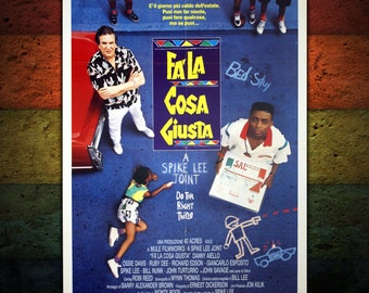 Original Poster Do the Right Thing - Spike Lee - 100x140 CM