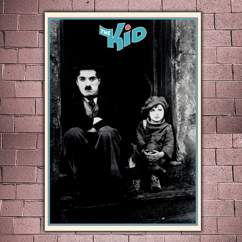 Film Poster The Kid Charlie Chaplin Formato: 50x70 CM | Etsy