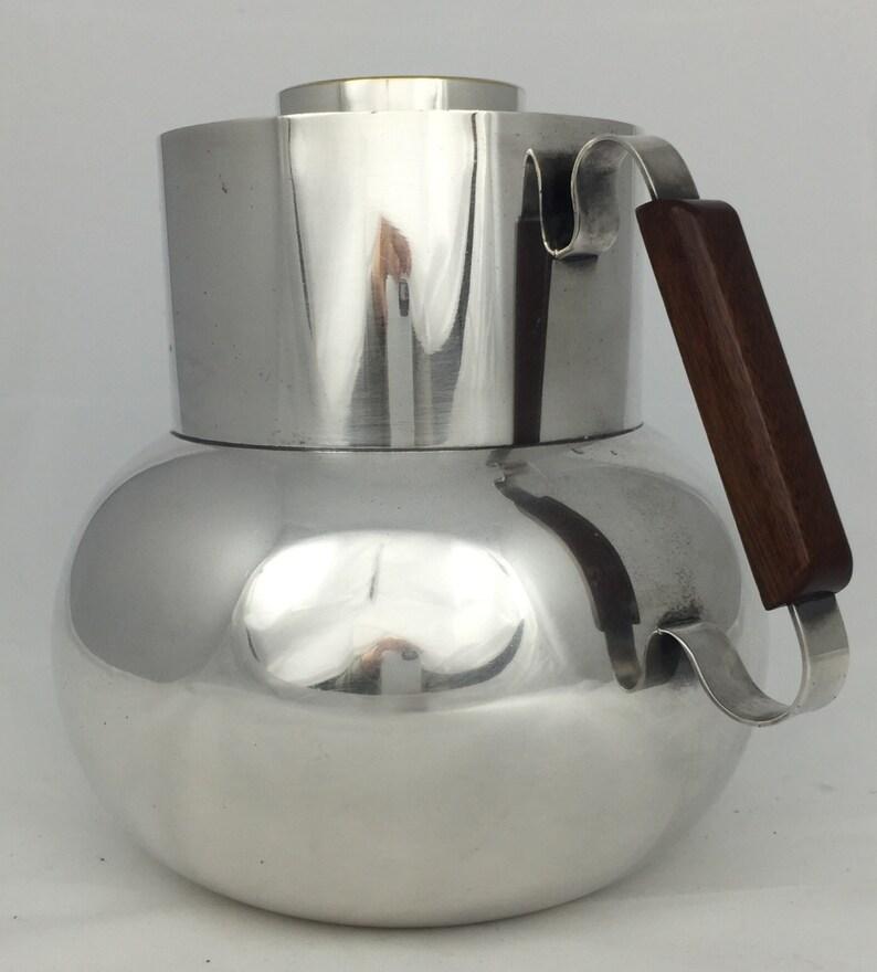 TEGHINE FIRENZE silver plated Simple as Georg Jensen. huge jug
