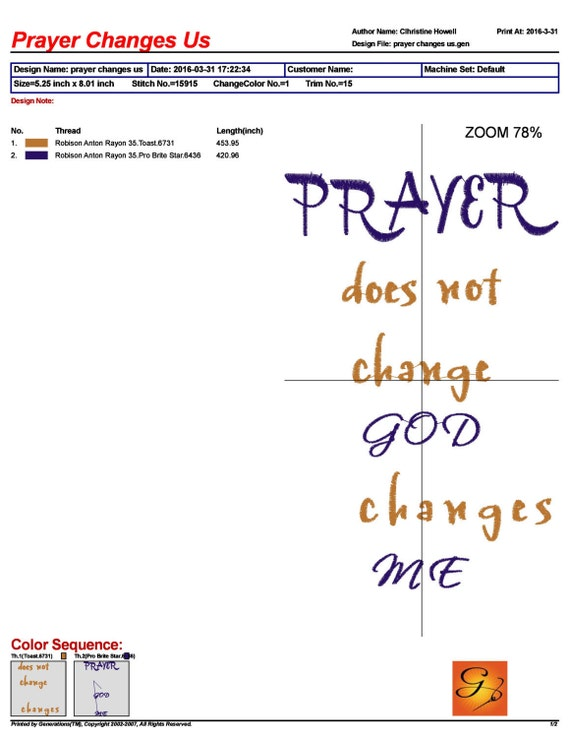 Prayer Does Not Change God Changes You