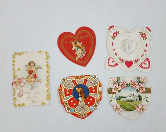 Mid Century Valentine Day Cards