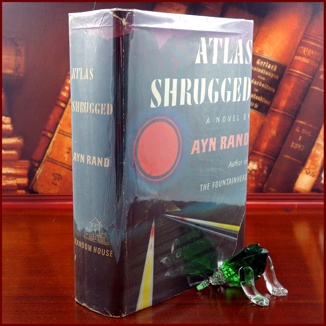 Atlas Shrugged by Ayn Rand - 1st Edition - 1957 - from