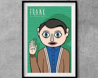 Frank Alternative Movie Poster - Original Illustration