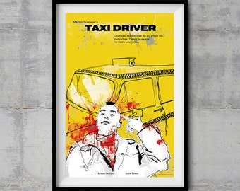 Taxi Driver Alternative Movie Poster - Original Illustration
