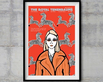 The Royal Tenenbaums - Margot Poster - Original Illustration