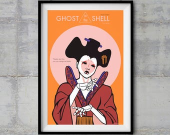 Ghost in the Shell - Geisha Bot - Alternative Movie Poster