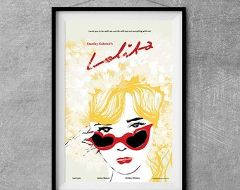 Lolita Alternative Movie Poster - Original Illustration