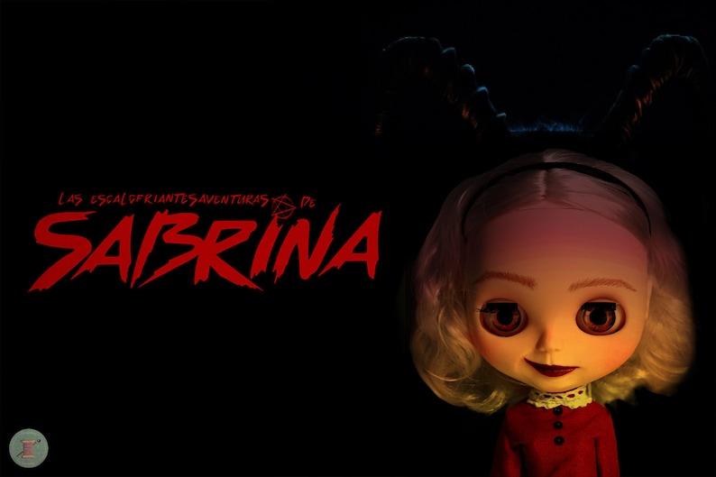 Custom The Ooak Chilling Of Blythe Doll Adventures Sabrina OZuXPki