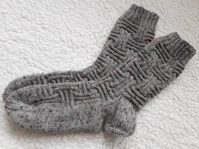 9d1e224c56b1d Wool socks Knit socks Men socks Boot socks Warm socks Handknit | Etsy
