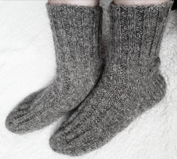df37633a6a657 Wool socks Mens socks Knit socks Man socks Christmas gift | Etsy