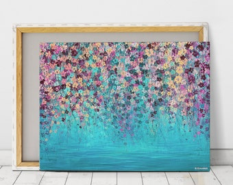 Abstract Canvas Print Large Wall Art Acrylic Painting Abstract Canvas Art  Abstract Art Large Abstract Canvas Wall Art Impressionist Painting