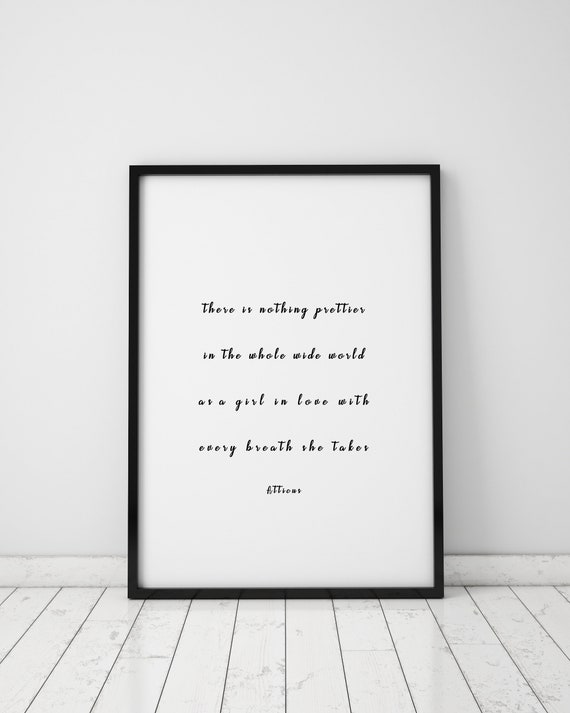 Atticus Quote Prints Atticus Wall Art Quotes Atticus Poetry Etsy Magnificent Wall Art Quotes