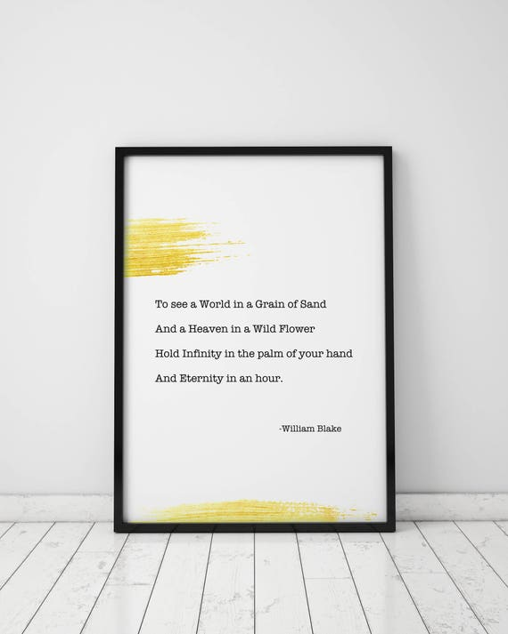 Gold Cytaty Aby Zobaczyć świat W Ziarno Złoty Piasek Cytat Art Print Wydruku Złoto Złoty Cytat Cytat Na ścianę Do Pisania Wydrukować Do Pisania