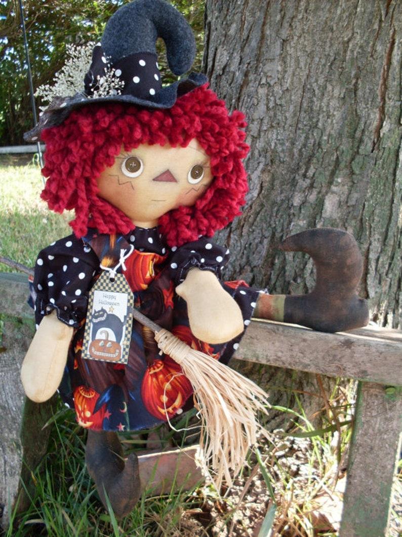 KCP119 Witchie Annie Primitive Witch PATTERN