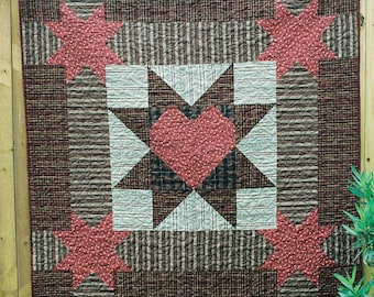"""Another NEW Primitive Quilt PATTERN """"My Prim Star"""""""
