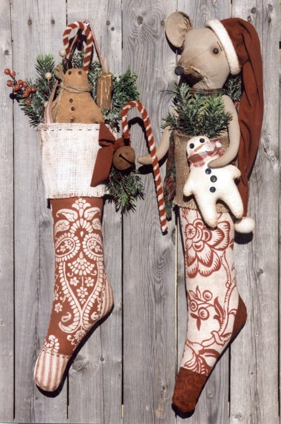Primitive Doll PATTERN Emily Louise CK78