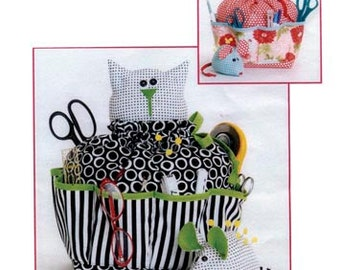 Sewing PATTERN - Sewing Catty & Pincushion Mouse - CG151
