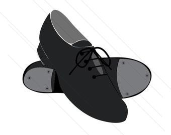 90652b3f tap shoe svg, dance shoes svg, performance shoes svg,