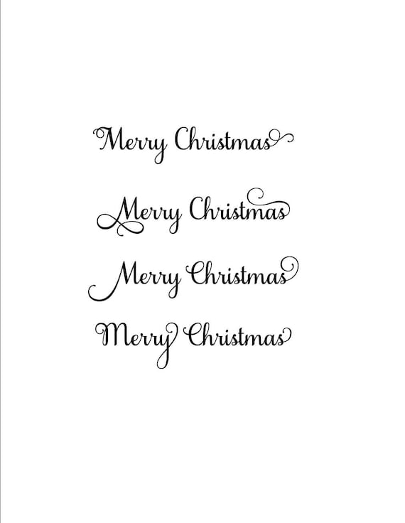 Merry Christmas In Cursive.Merry Christmas Svg Christmas Svg Christmas Decor Svg Holiday Svg Holiday Decor Svg Merry Svg Cursive Svg Merry Christmas Font