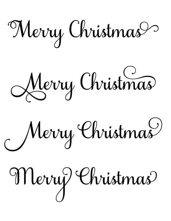 merry christmas svg christmas svg christmas decor svg holiday svg holiday decor svg merry svg cursive svg merry christmas font