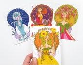 Seasons, Limited edition postcards