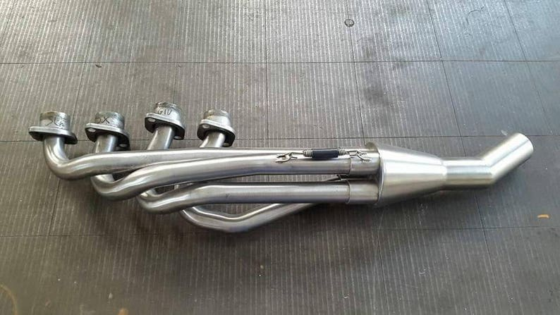 BMW K cafe racer Series K 4-1 exhaust collector for 4 cylinder k series   collettore 4in1 bmw k100 k1100  BMW parts