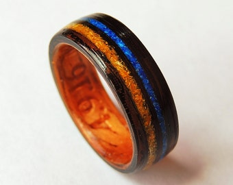 Bentwood Ring, Anniversary Dried Flowers
