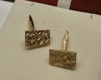 Cuff Buttons Gold 333 vintage Elegant MS202