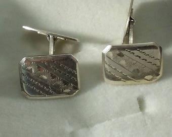 Cufflinks silver 835 Cufflink noble MS131