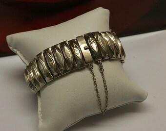 Bracelet Antique Silver 835 vintage elegant rar SA354