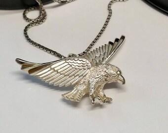 925 plata ave rapaz aves águila SK1043 del encanto