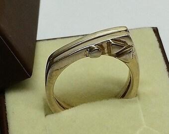 18.3 mm Ring Silver 925 designer extravagant SR777