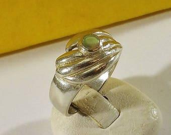 17.2 mm Ring silver 925 abalone shell rar SR1022