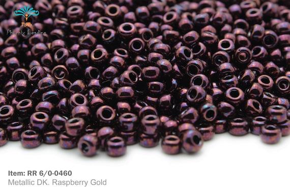 Miyuki Round Rocailles 6//0 Duracoat Galvanized Seed Beads RR-4203