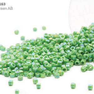 110 Seed Bead by Miyuki Smoky Black Matte Picasso 11-94511