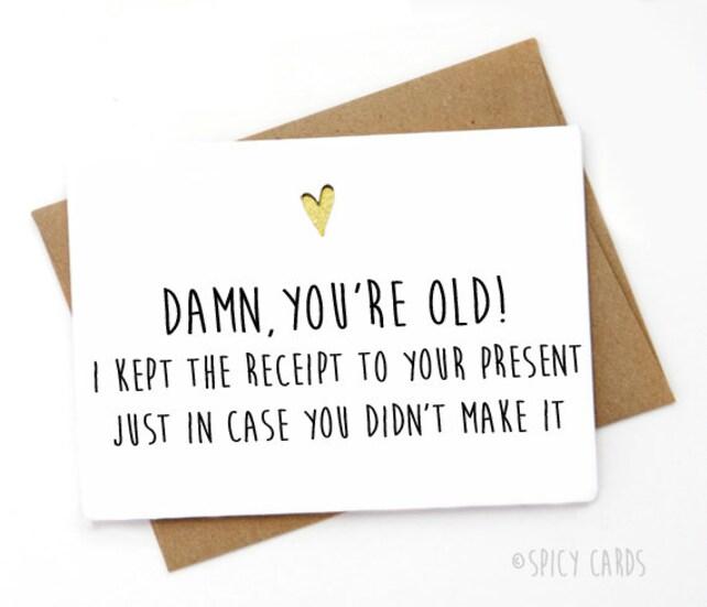 Funny Birthday Card Greeting Coworker Best Friend
