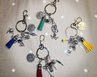 Harry Potter fans metal charm bag jewelry